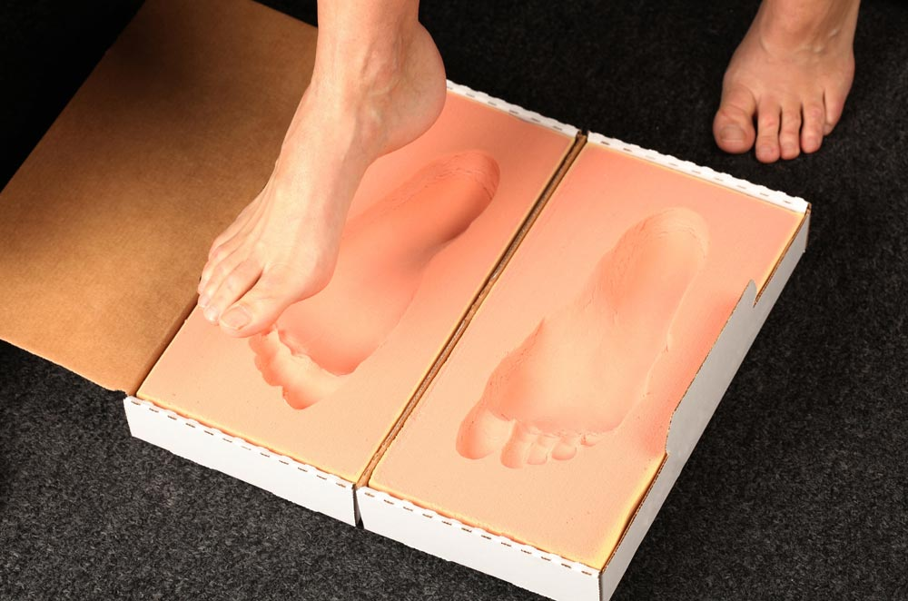 sneakers with custom orthotics from waterloo or Owen Sound Chiropractor
